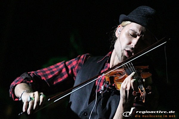 David Garrett live im Hamburger CCH