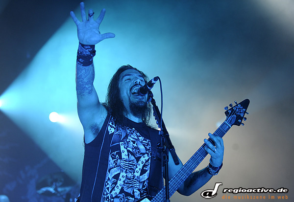 metal vom feinsten in wiesbaden - Fotos: Machine Head & Special Guests: Caliban, Bleeding Through